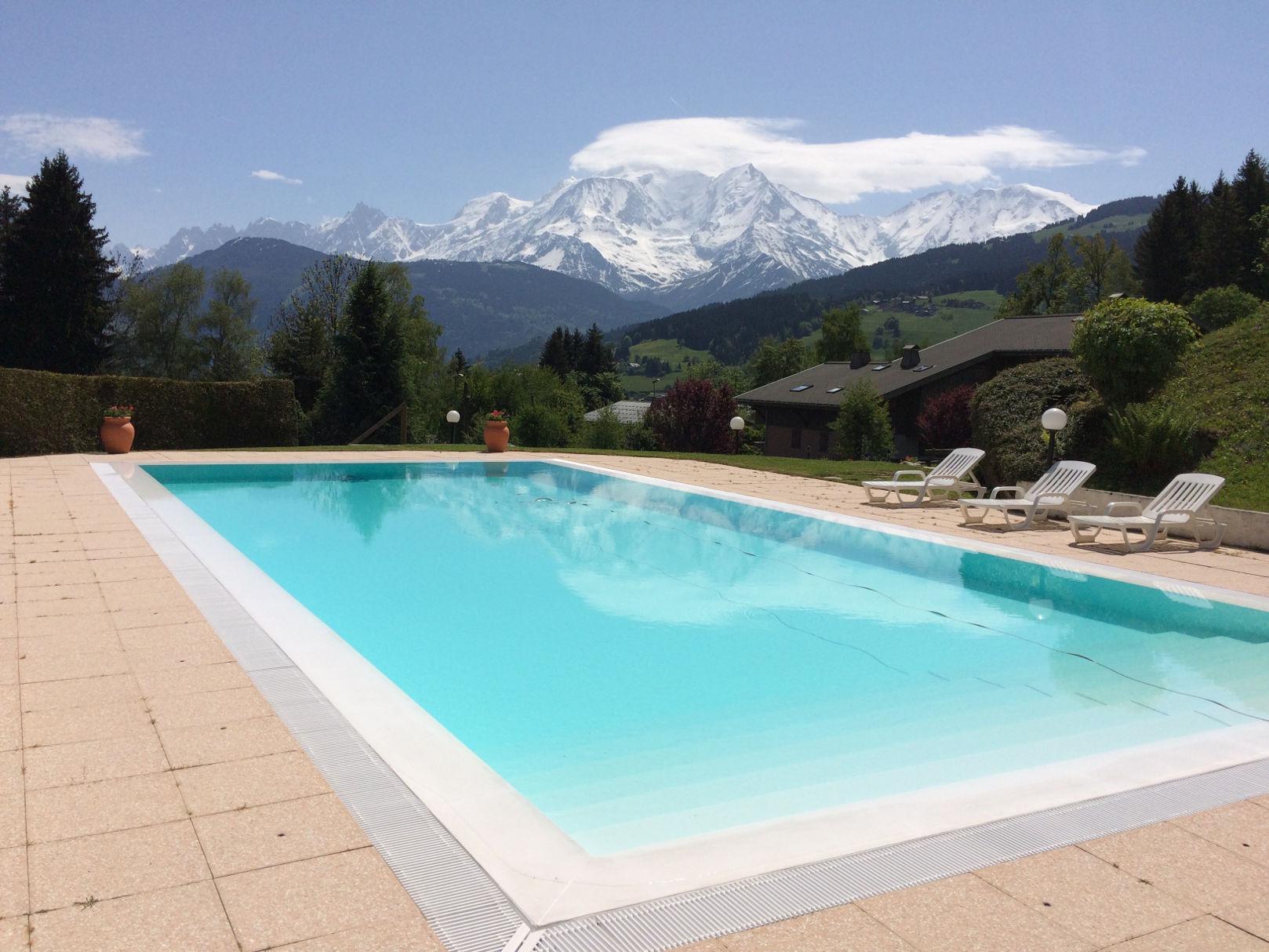 Construction piscine extérieur Genève