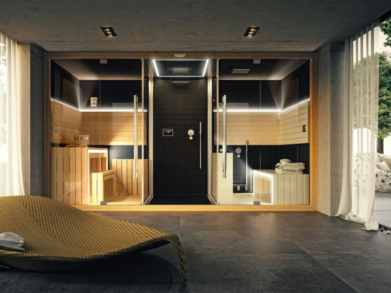 Hammam sauna douche Genève