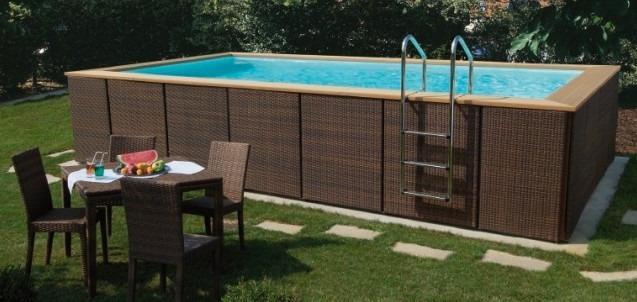 Construction piscine hors-sol Genève